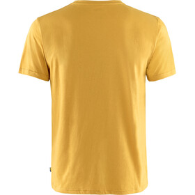 Fjällräven 1960 Logo Camiseta Hombre, amarillo